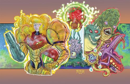 Super Metroid 11x17