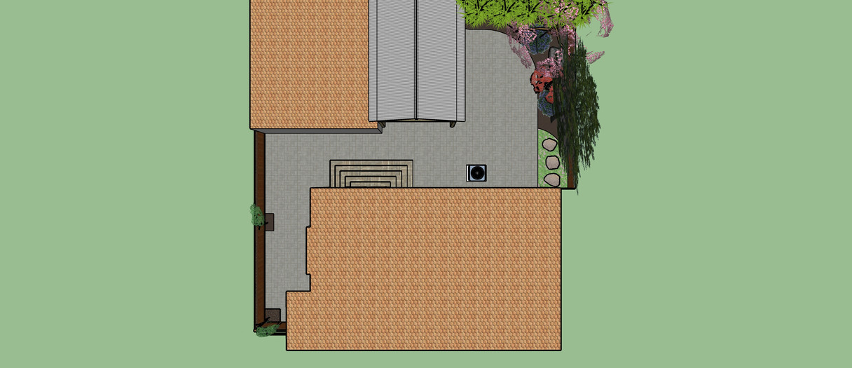 Back yard redesign