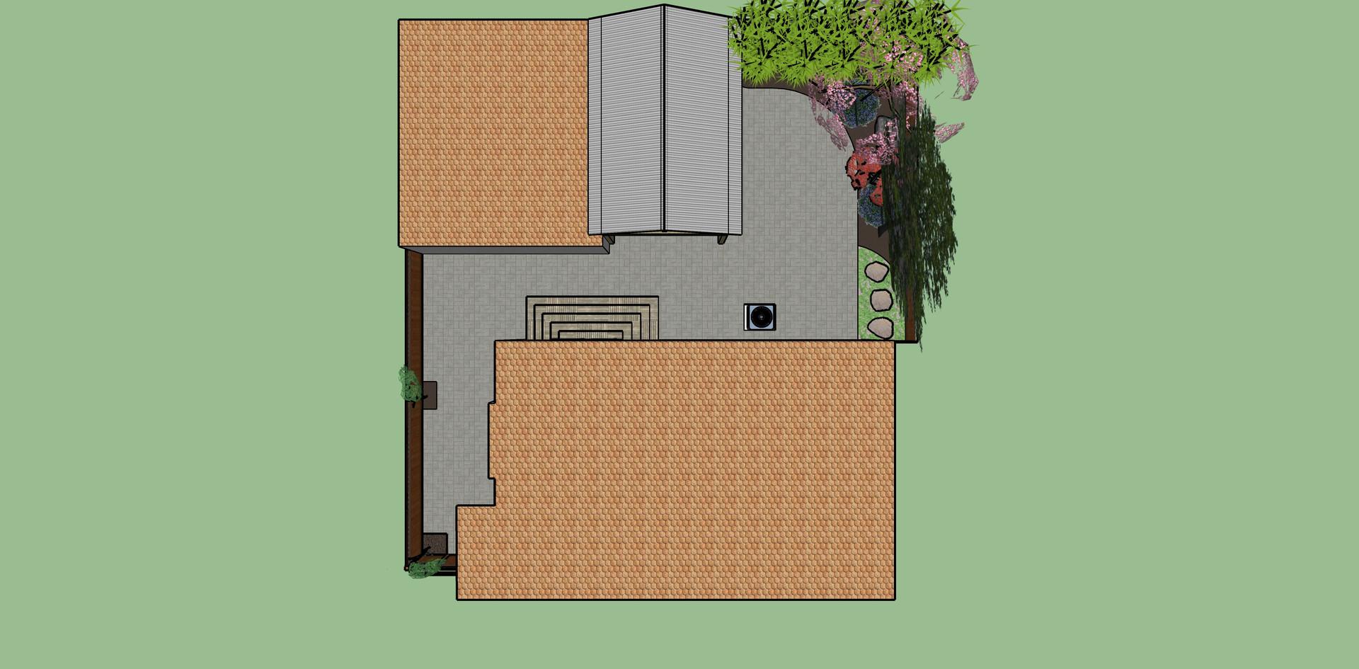 Back yard redesign