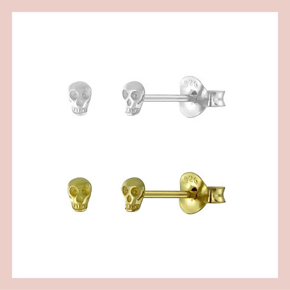 Mini Skull Stud (single)