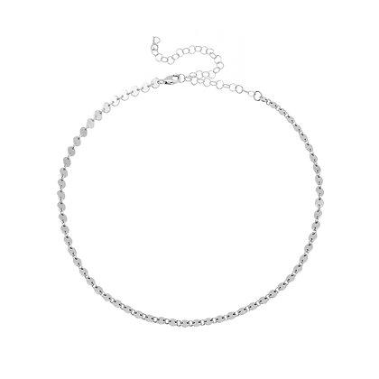 Coin Choker - Silver