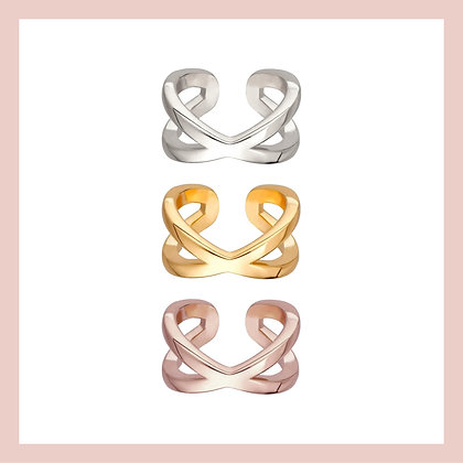 Criss-Cross Basic Ear Cuff