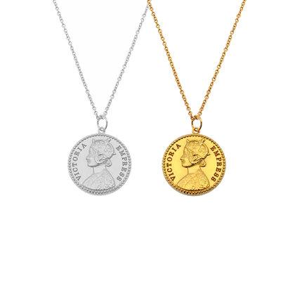 Victoria Coin Necklace