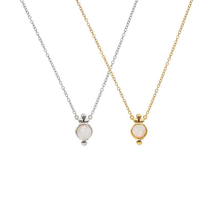 Opal Trinity Necklace