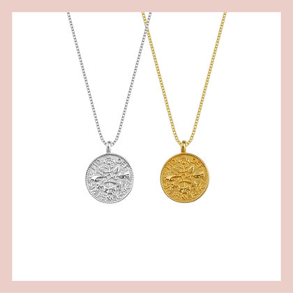 Medallion Coin Necklace