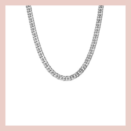 Venus Chunky Choker -Silver