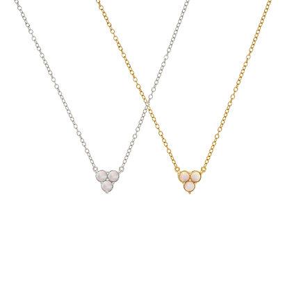 Opal Trio Necklace