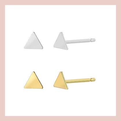 Triangle Chic Stud (single)