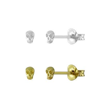 Mini Skull Stud (single)