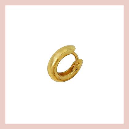 Mini Luxe Cartilage Huggie Hoop - Gold (single)