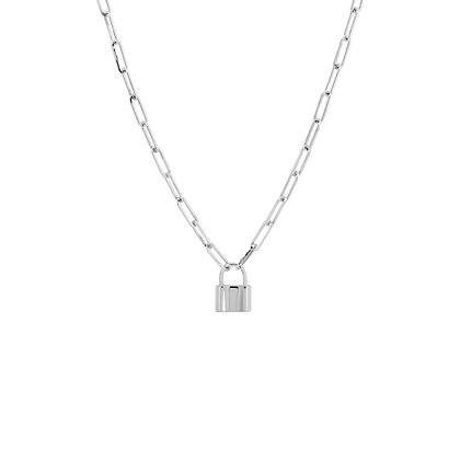 Lock & Chain Necklace