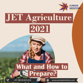 JET Agriculture 2021: What and How to Prepare?