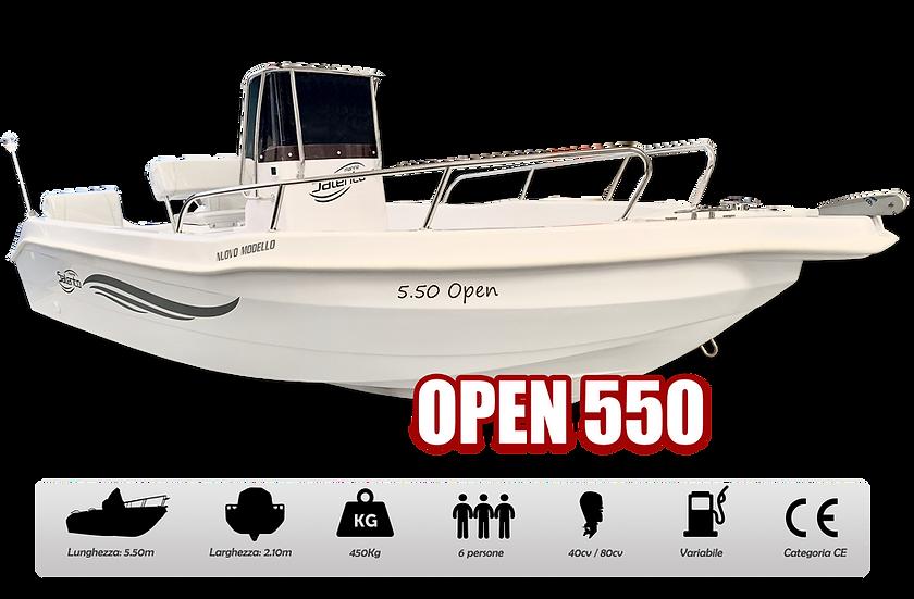 OPEN 550
