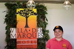 hotel Villa del Marqués, Santa Fe de Antioquia, Hotel Medellín, campestre, natural
