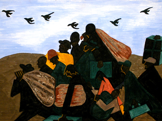 A poem recognising Migration and  Refugees in Africa