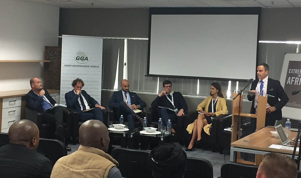 "ALPS presents at Good Governance Africa's ""Extremisms in Africa"" Workshop"
