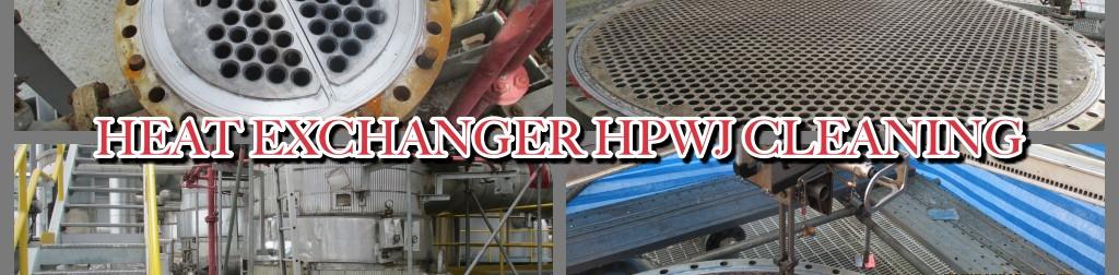 Heat Exchanger HPWJ Cleaning
