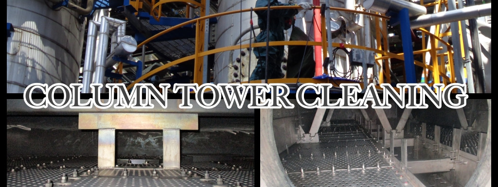 Column Tower Cleaning