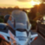 Passenger Bikes - Motorbike Taxi - Sunset