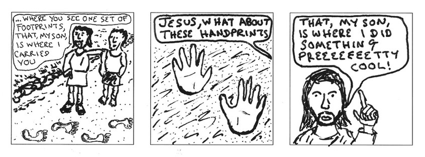 Jesus footprints