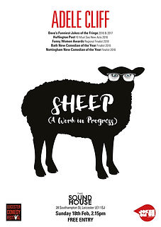 Adele Cliff - Sheep by Peril Design