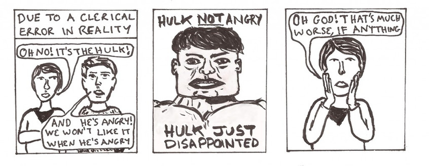 Hulk not angry