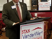 Stan VanderWerf Announces 2020 Re-Election Bid for El Paso County Commissioner
