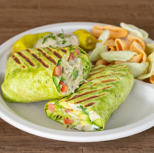 babaganoush wrap