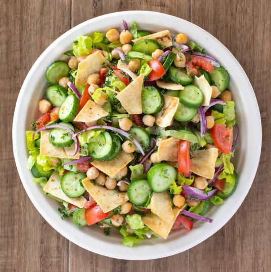 garbanzo pepper salad