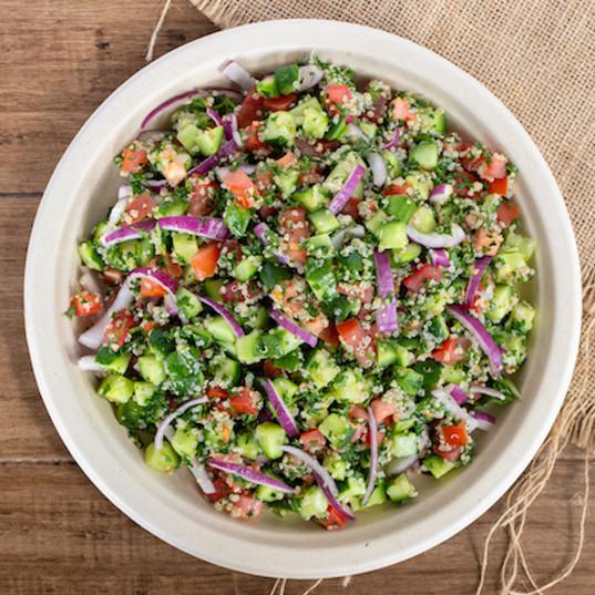 quinoa chop salad