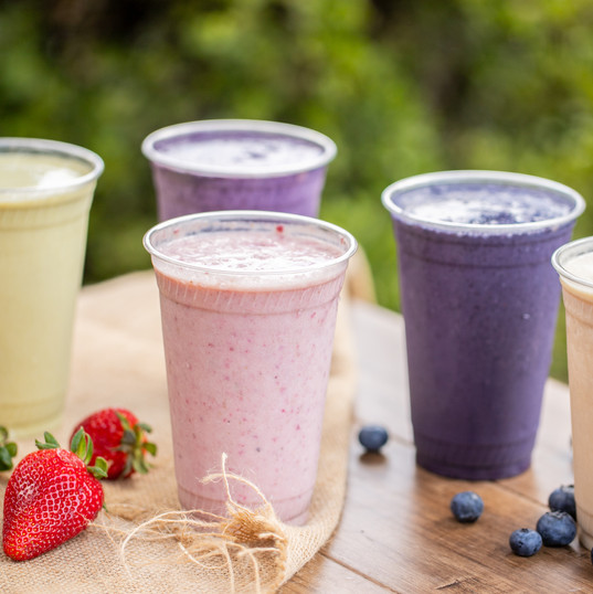 our smoothies