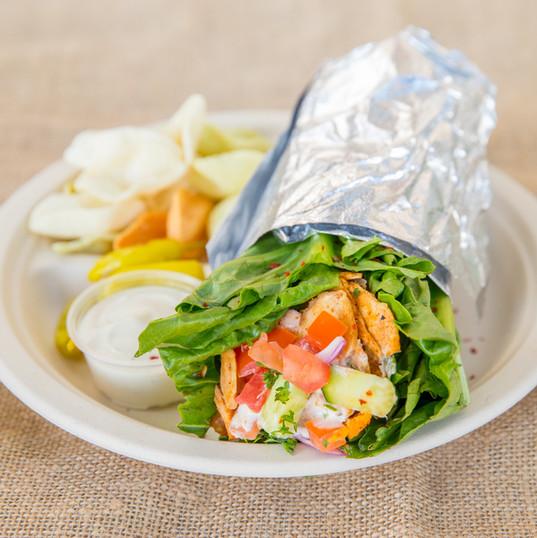 make any wrap a lettuce wrap