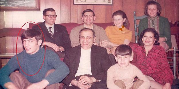 Gary Catona and his family in 1966