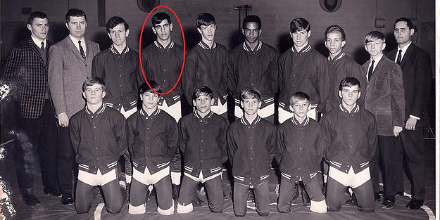 Gary Catona In Wrestling While In High School