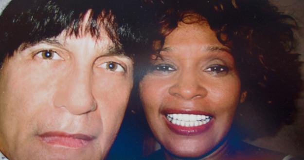 Gary Catona and Whitney Houston