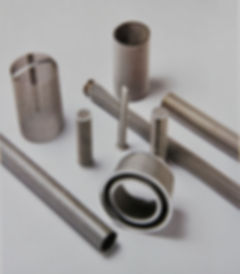 Extrusion cylinder, cone, tube, aluminum bound pack