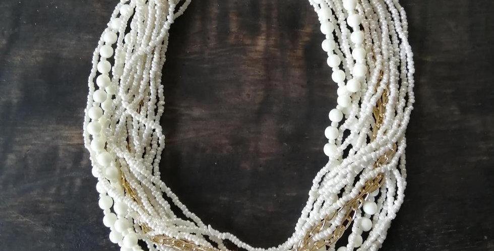 Collier Samba ivoire