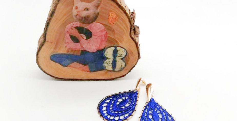 Boucles Yvette Blue
