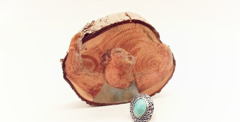Bague Turquoise Design Ovale