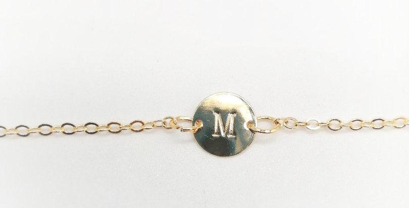 Bracelet Alpha ( lettre au choix )