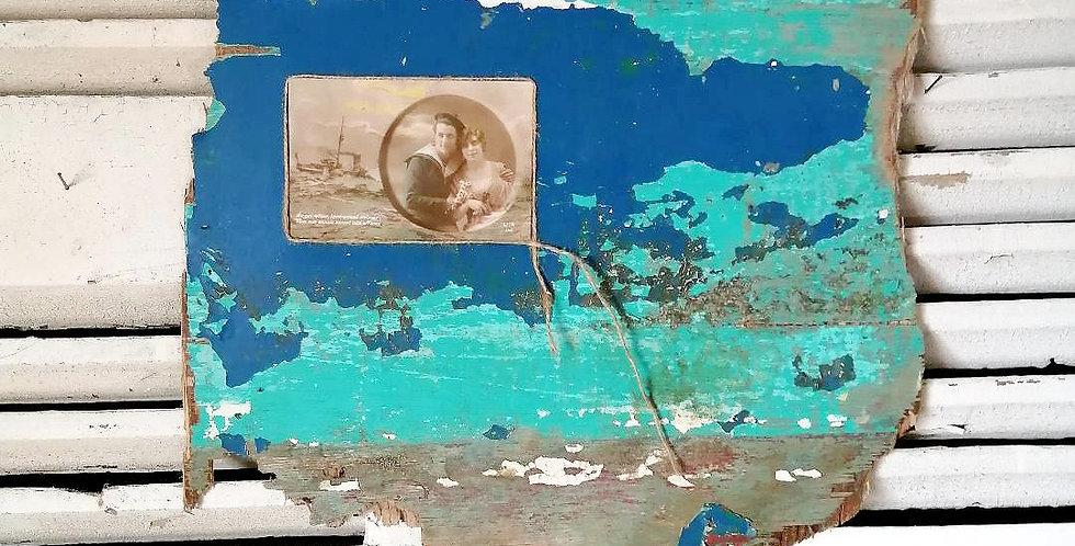 Cadre Vintage Marin Amoureux