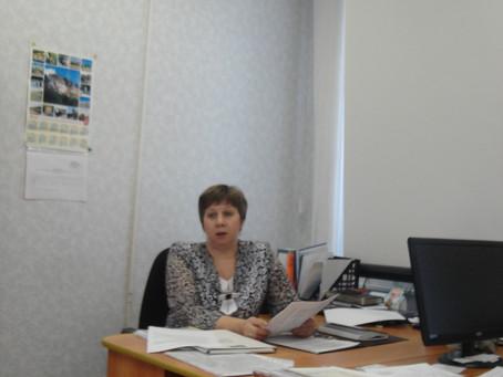 Повышение квалификации сотрудников  Государственного архива в г. Красноуфимске.