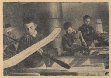 История детского технического творчества в архивных документах