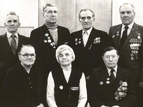 Красноуфимцы на защите Ленинграда