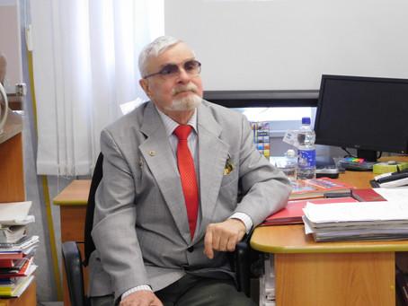 Встреча  с фондообразователем  архива – Кашиным Юрием Сергеевичем