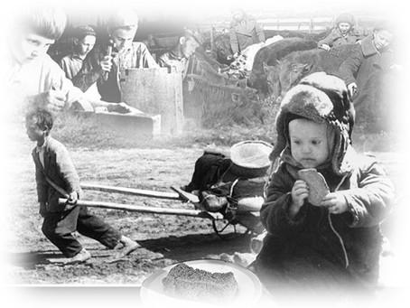"""""""Дети войны""""- электронный вариант выставки архивных документов"""