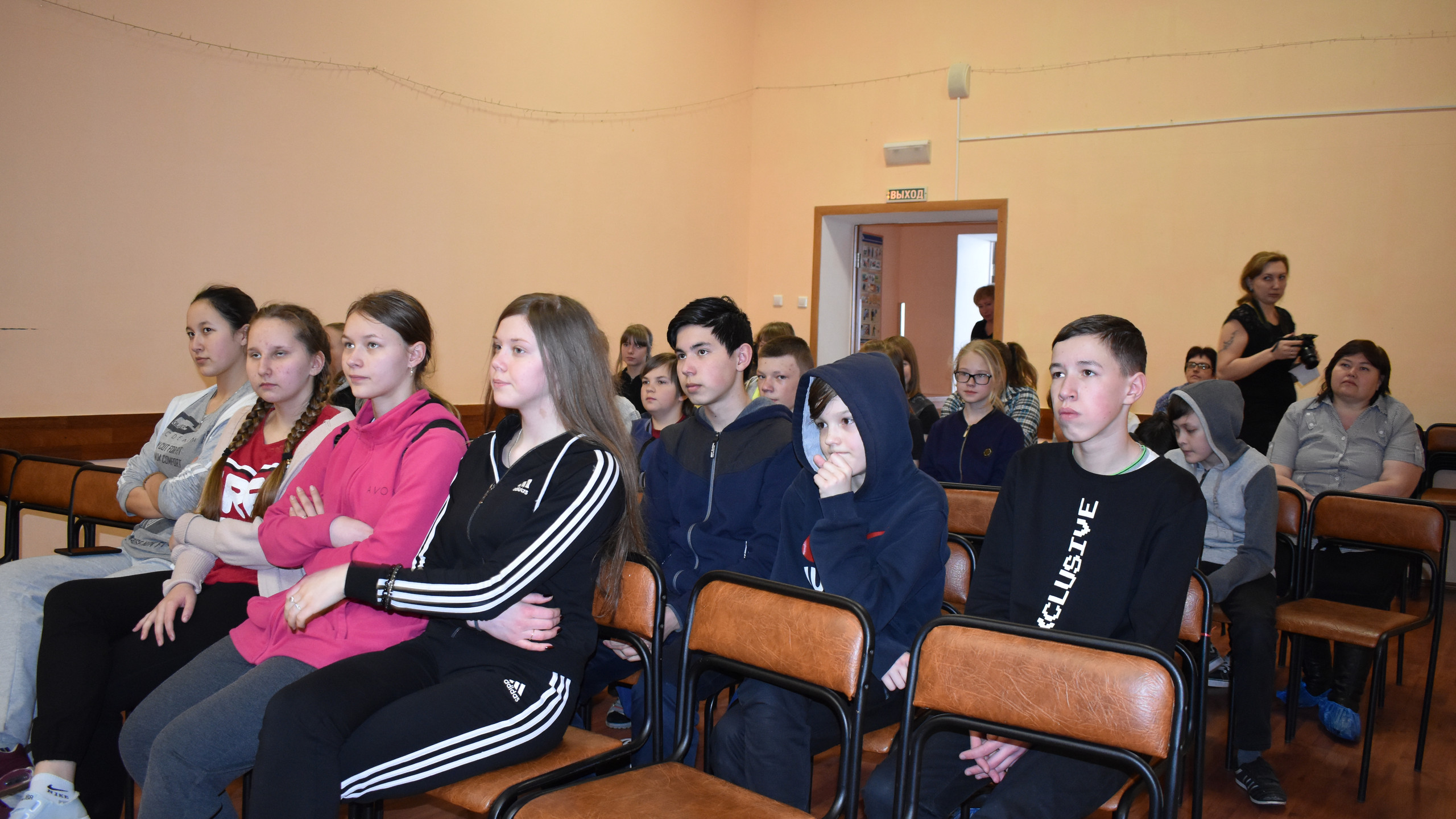 Обучающиеся Пудлинговской школы