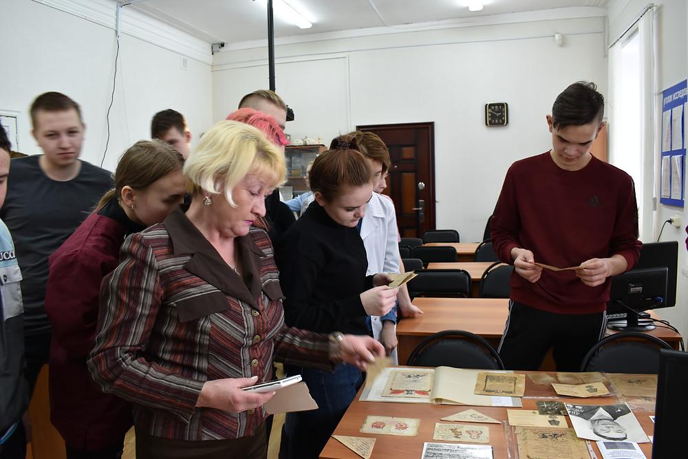 Студенты Красноуфимского филиала Свердловского областного медицинского колледжа в архиве