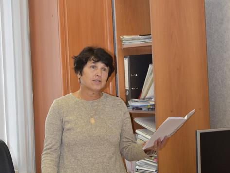 Встреча с краеведом Людмилой Павловной Шаровской