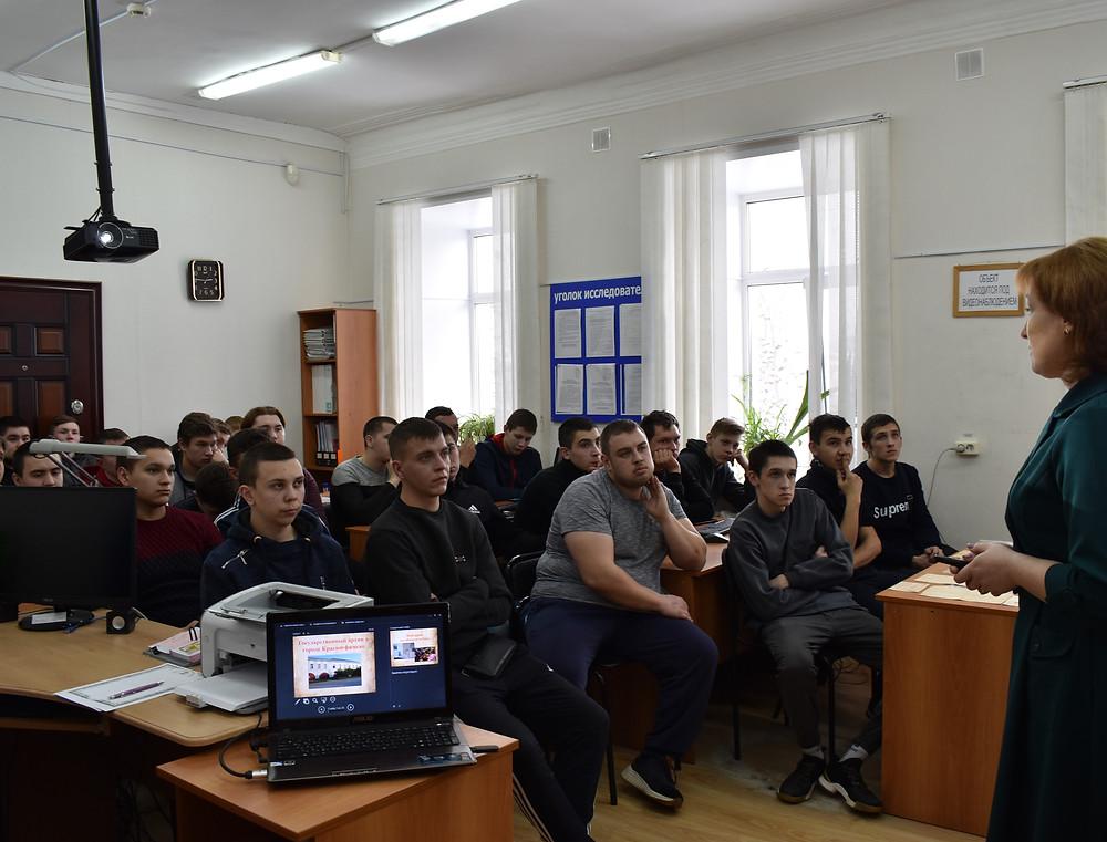 Студенты Красноуфимского многопрофильного техникума в архиве
